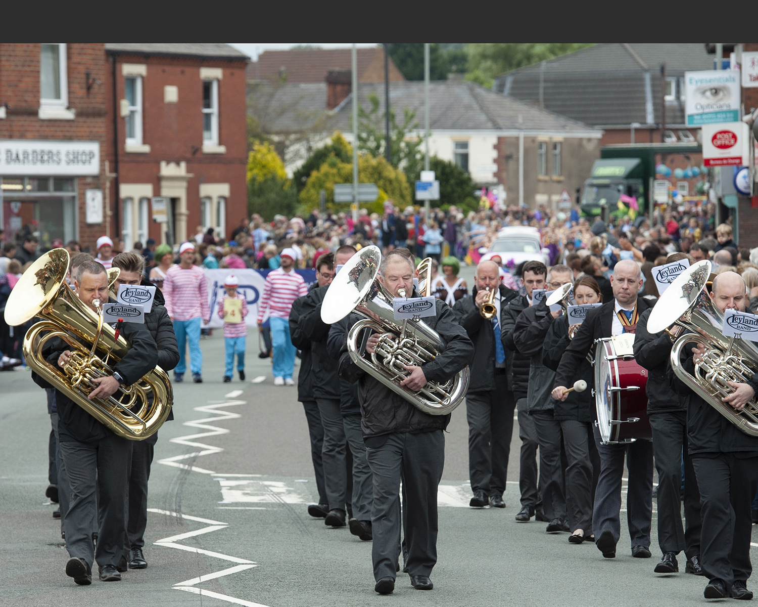 Brass Band at Leyland Festival