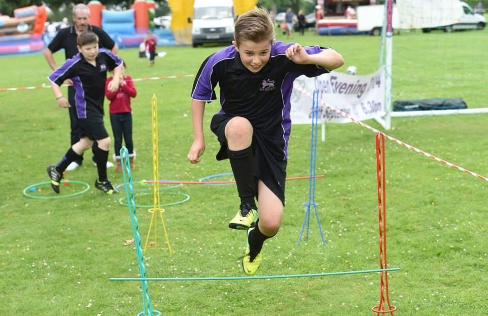 Hurdles at Leyland Festival