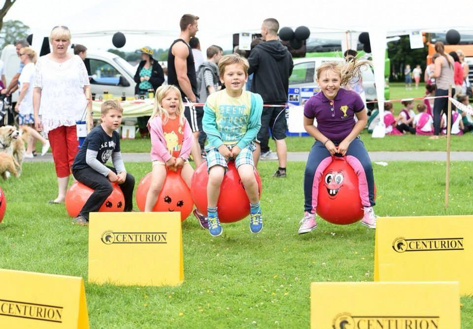 Sporting fun at Leyland Festival