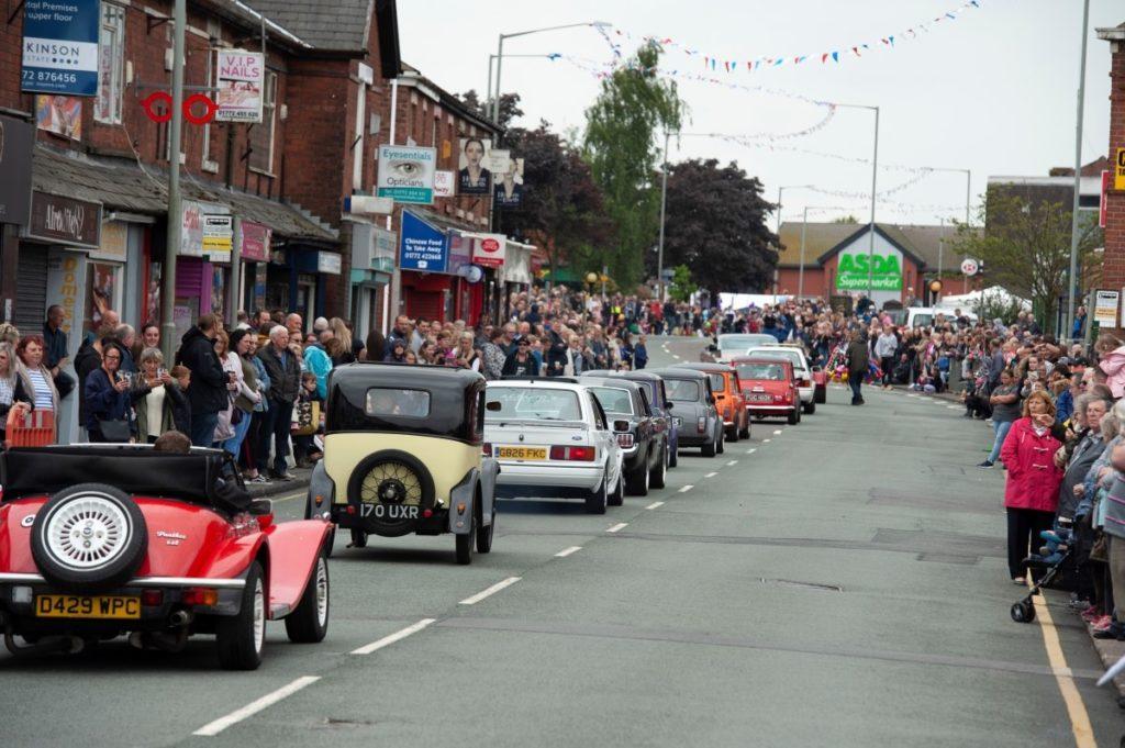 Car Parade Leyland Festival