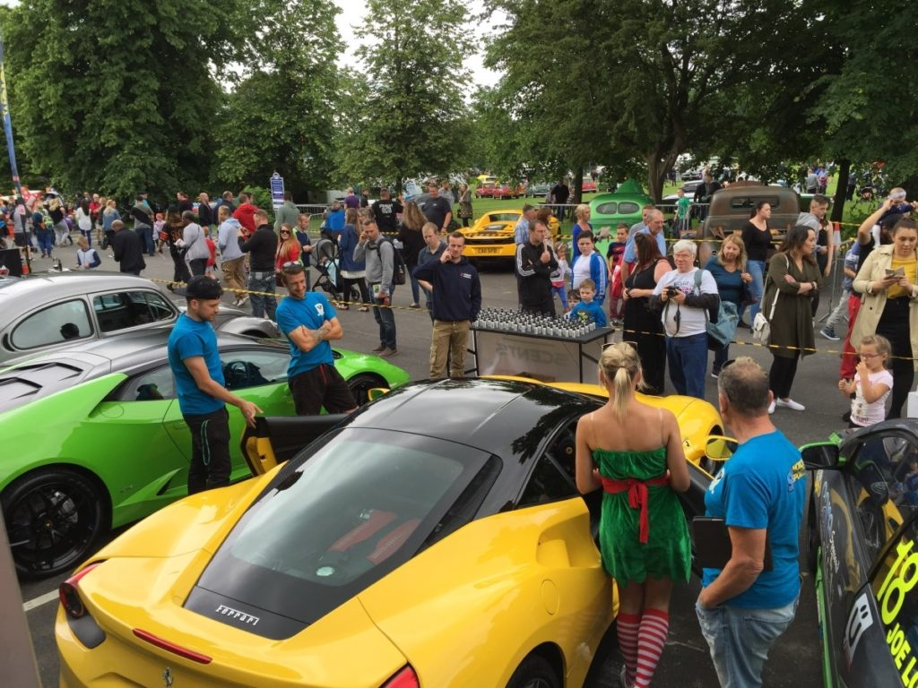Car Show at Leyland Festival