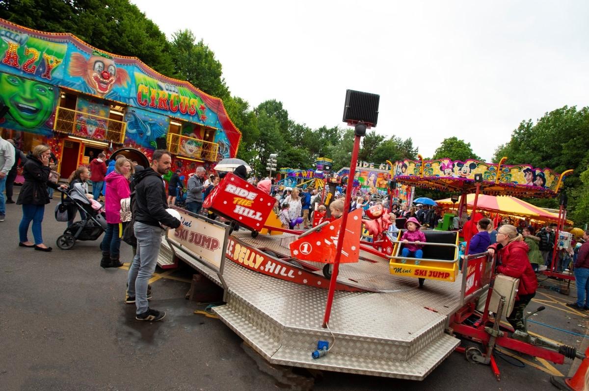Fairground Fun at Leyland Festival
