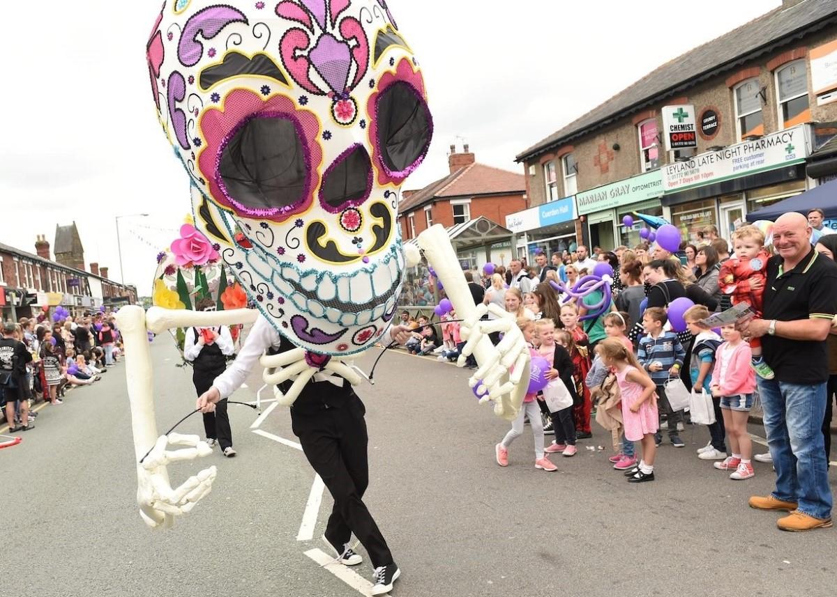 Parade at Leyland Festival