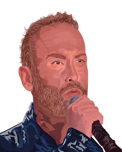 Digital Portrait of Kevin Simm