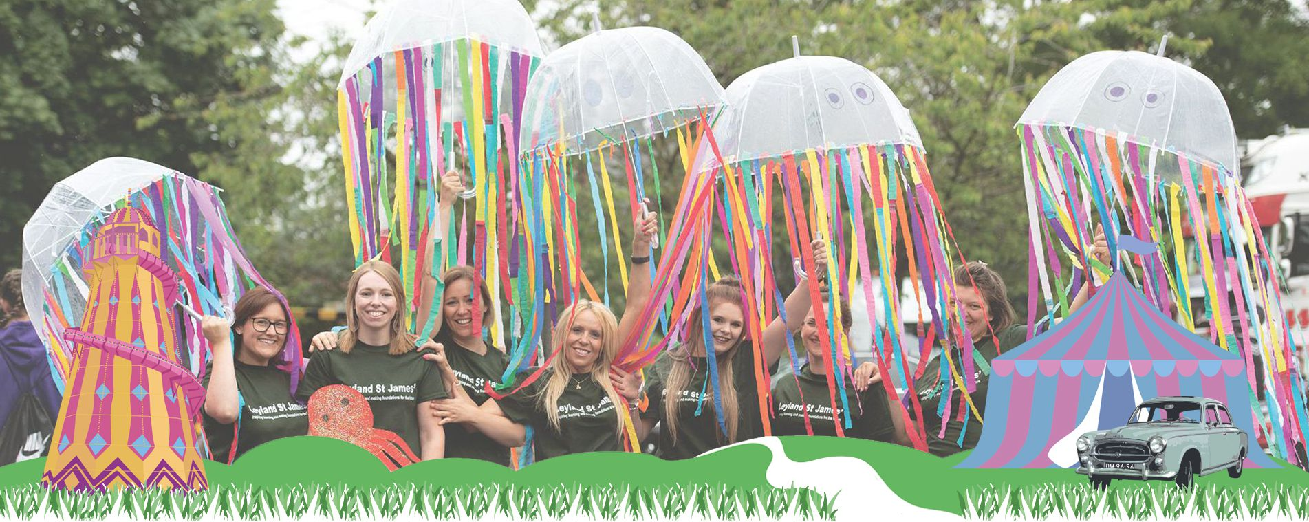 Take Part & Volunteer at Leyland Festival