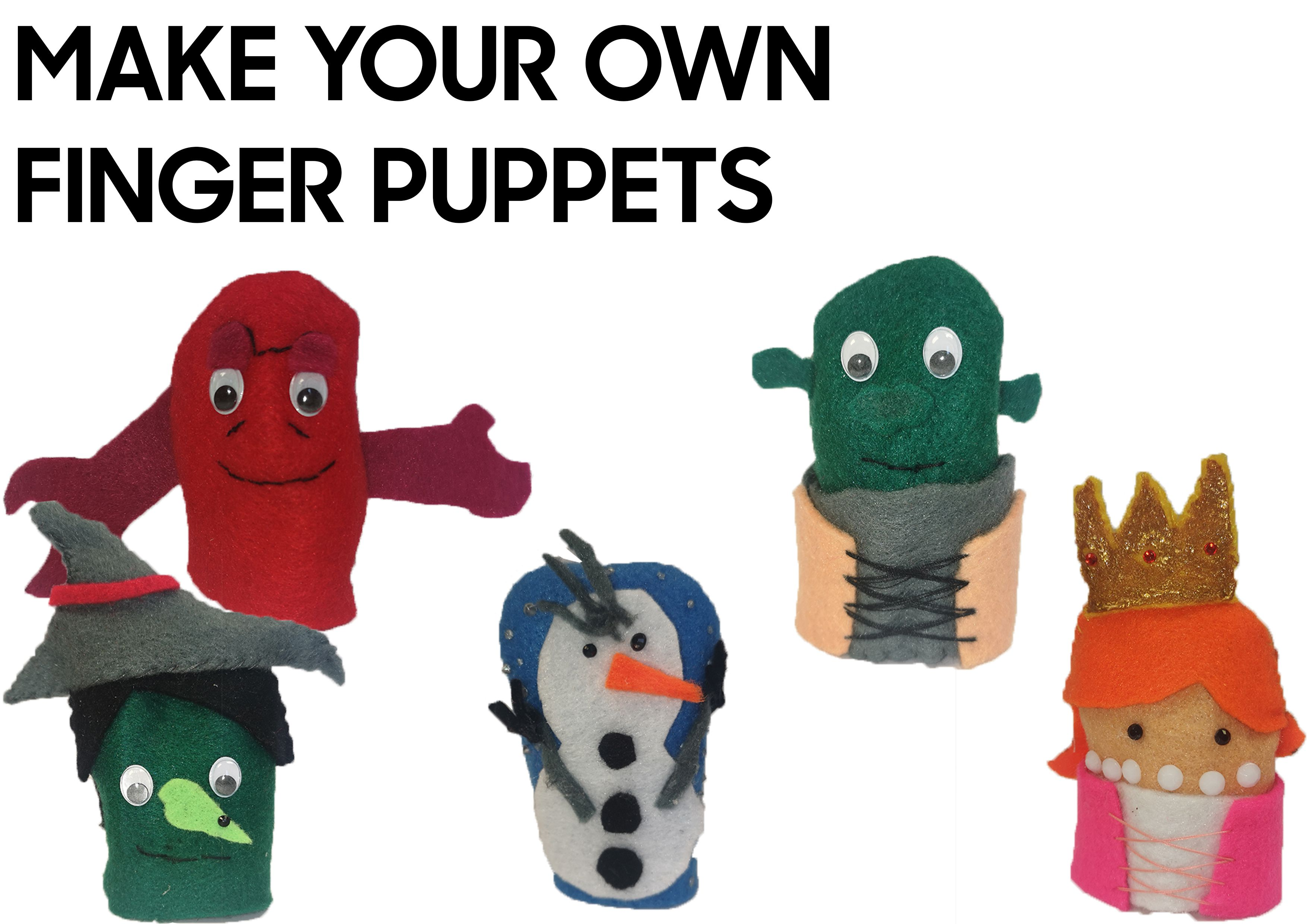 Make your own musicals puppet activity