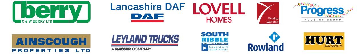 Sponsor Logos Leyland Festival 2019