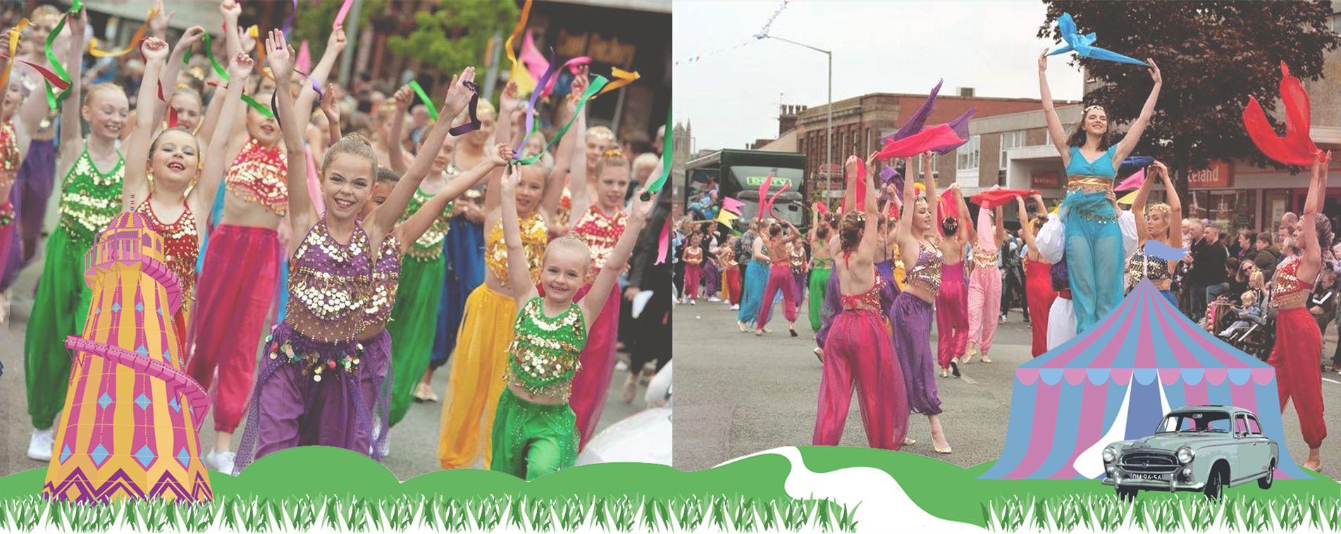Mavis Berry & Helen Allen School Of Dance at Leyland Festival