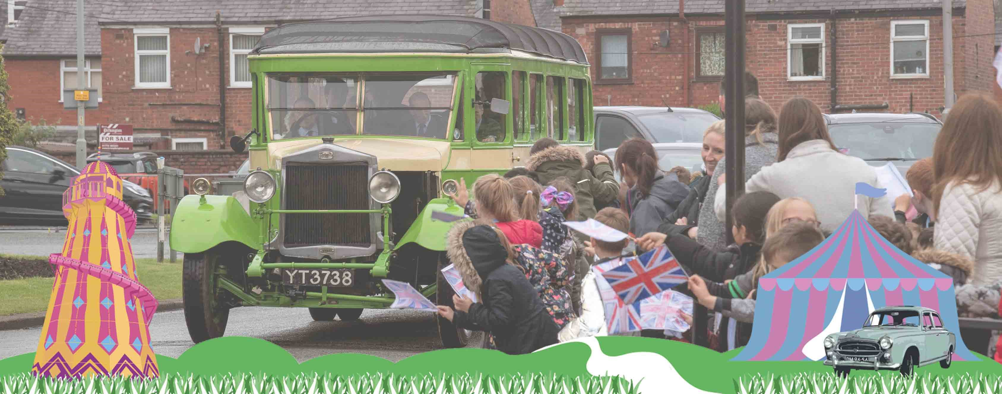 Royal Vehicle to take aprt in Leyland Festival