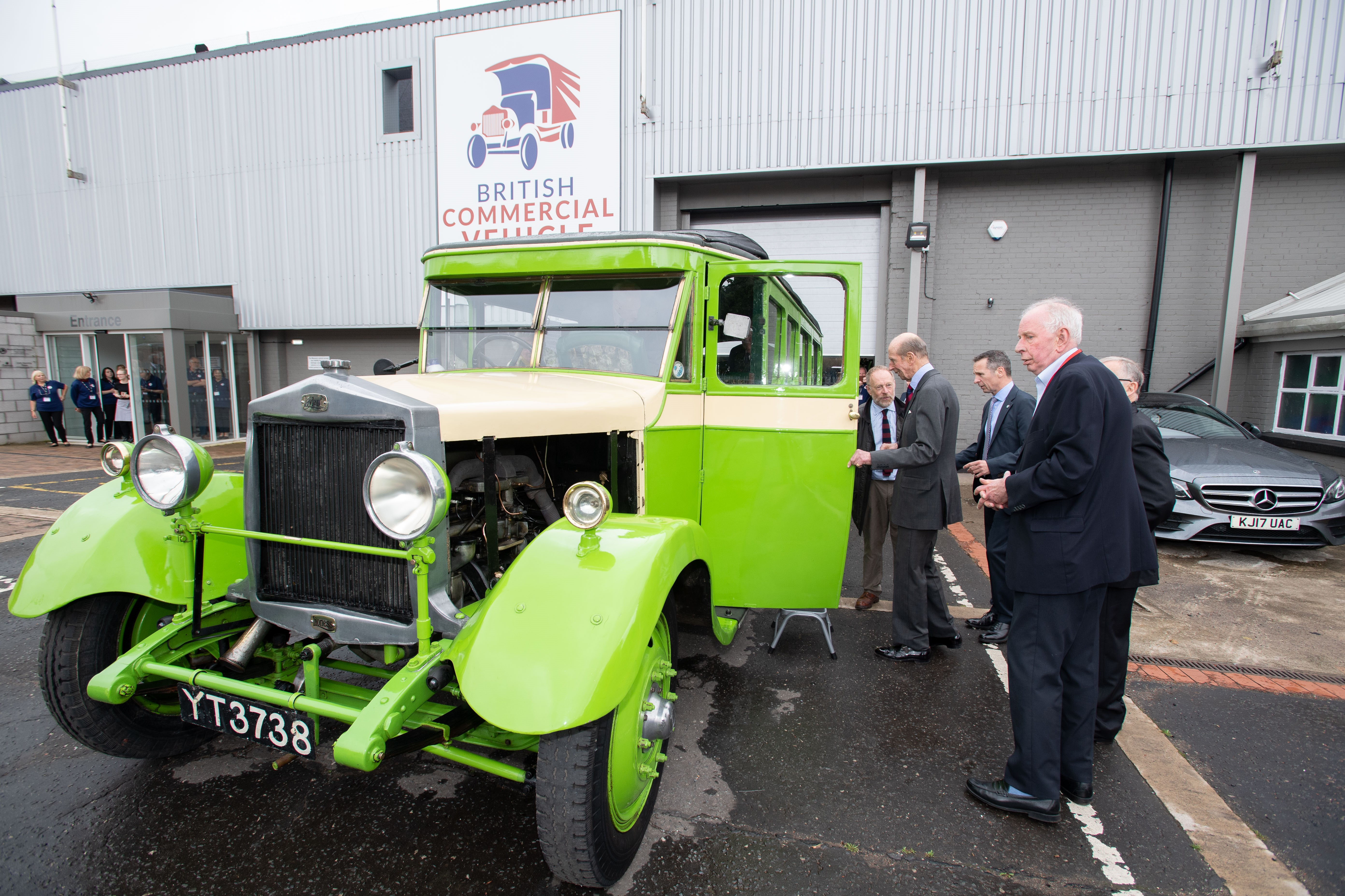 Royal Visit to Leyland by the Duke of Kent