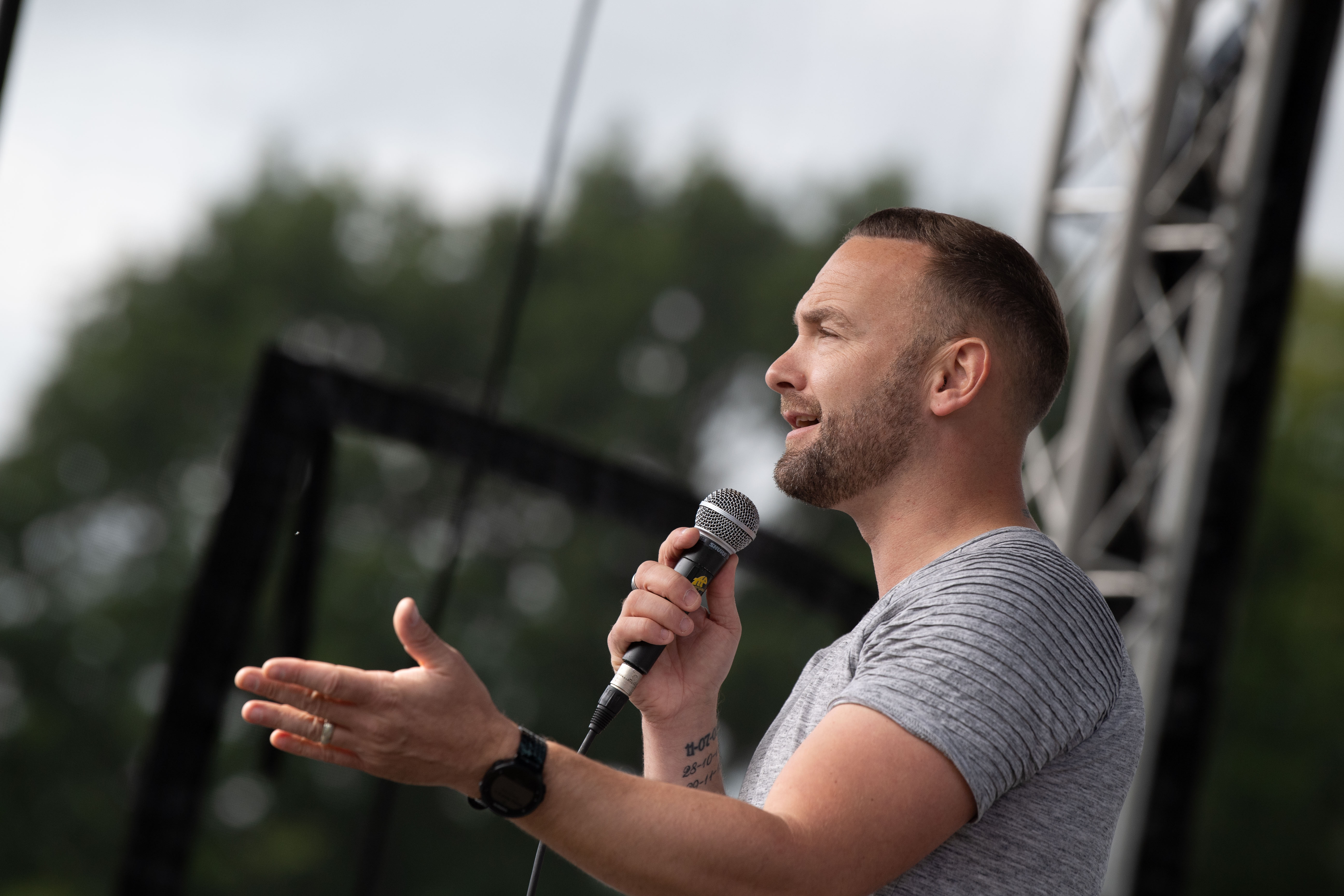 See Kevin Simm Headline at Leyland Festival 2019
