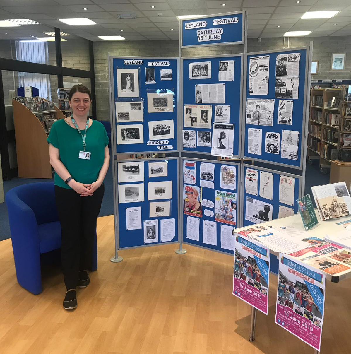 Leyland Library Opens Festival Archives