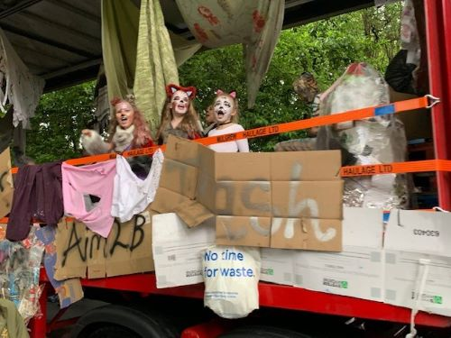 Aim2Be Leyland festival winning float